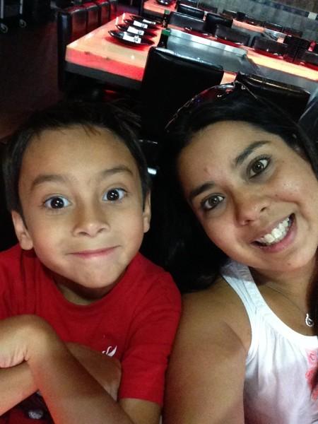 Sue & her nephew Jayce!