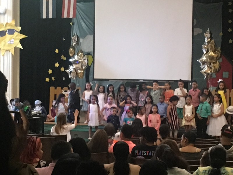 Kindergarten Moving Up Day At School!