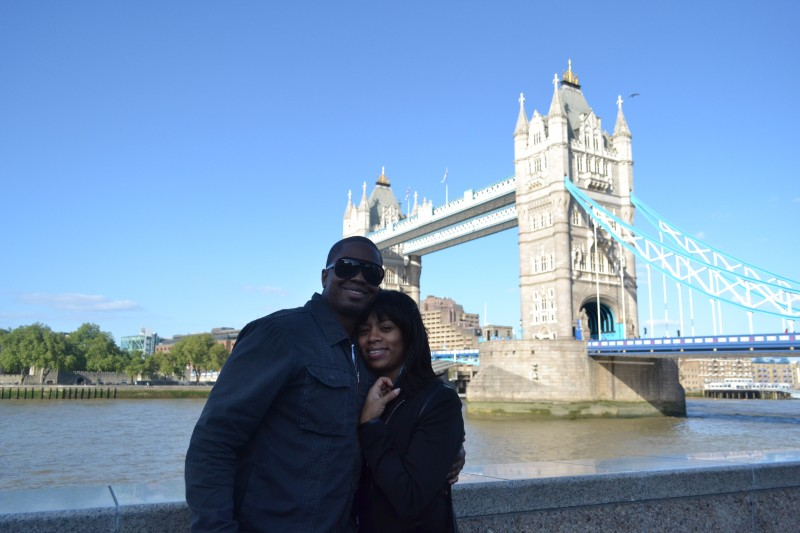 Our first trip together, London Bridge