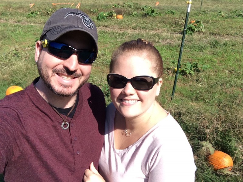 Family tradition- pumpkin picking