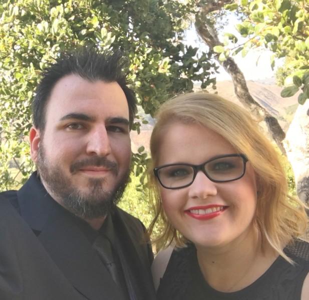 Friends wedding in california
