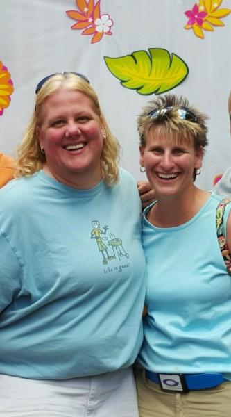 Corinne and Adrienne Summer Fun