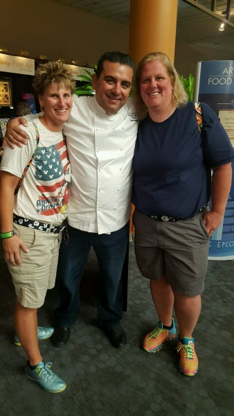 Epcot Food and Wine with The Cake Boss