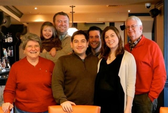Thanksgiving with Ryan's family (November 2013)