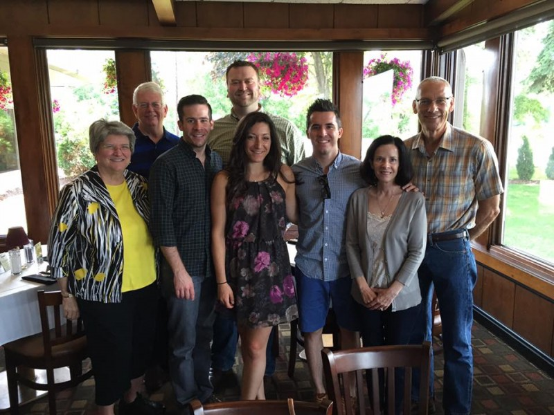 Brunch with the mixed family (June 2015)