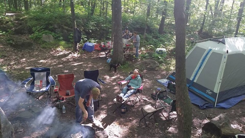 Every year for several years, we would camp up in Spirit Mountain in Duluth, MN with several friends