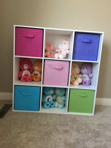 A collection of Care Bears ready to be loved!