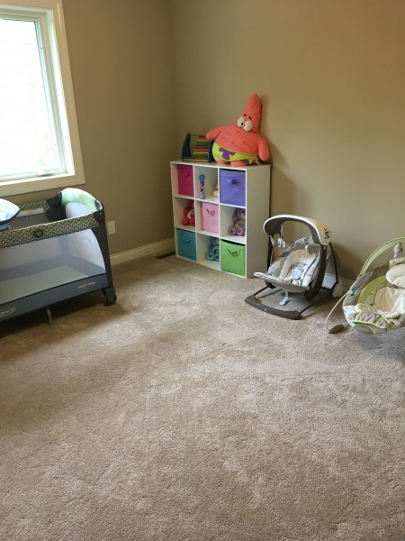 The baby's room, with plenty of gear for a little one!