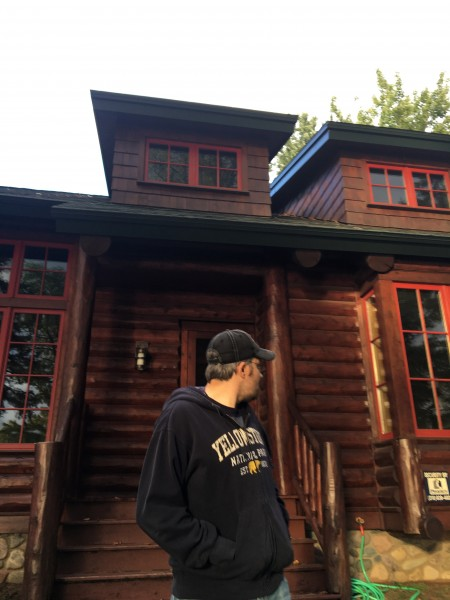 September 2017 - we spent the weekend of our wedding anniversary at a friend's huge cabin near Brainerd, MN