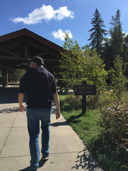 On our cabin vacation, we took a day trip to Itasca State Park - we love exploring state and national parks
