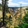 Artist's Point in Yellowstone - the picture doesn't do the view justice