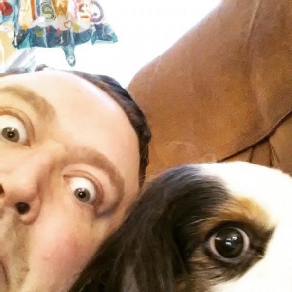 A goofier self-portrait with Ryan