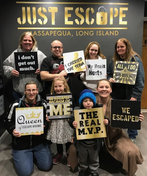 Family Fun at and Escape Room