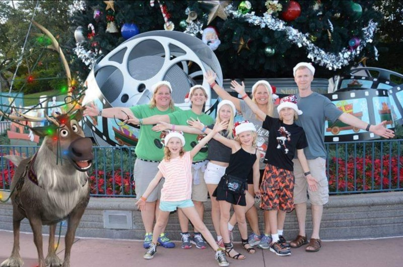 Family in Disney