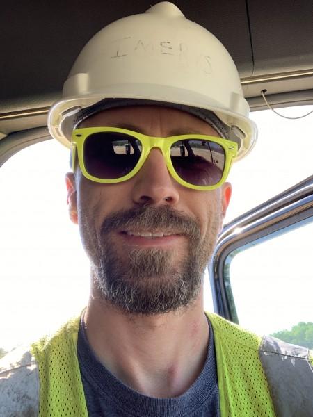 Ben, in hard-hat, in Alabama