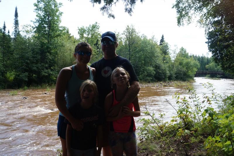 Eric's sister & family.