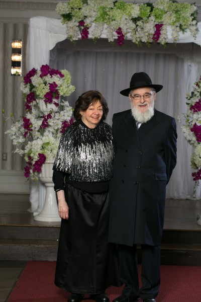 Elisheva's maternal grandparents, Yichezkel and Baila Goldberg