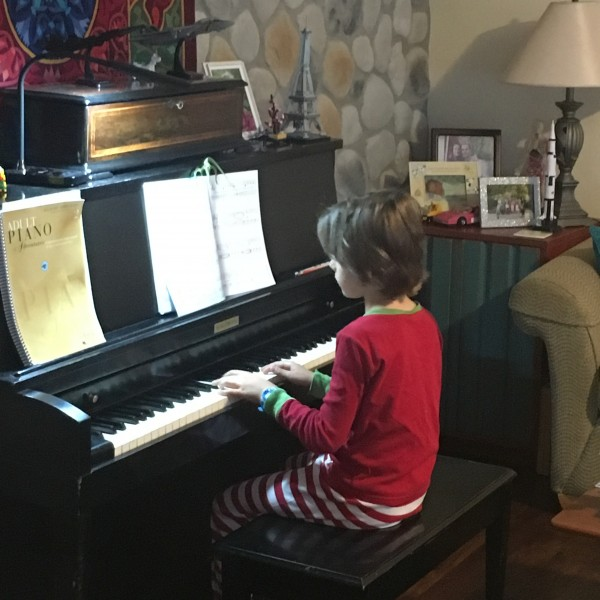 2 years of piano lessons