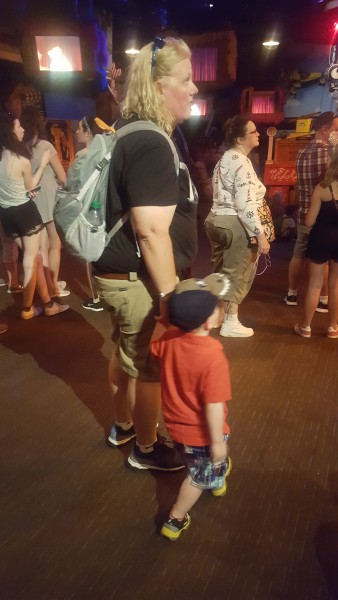 Corinne and Colin Enjoying Disney