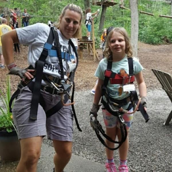 Adventure Park Zip Lining!
