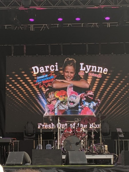 Darci Lynn concert