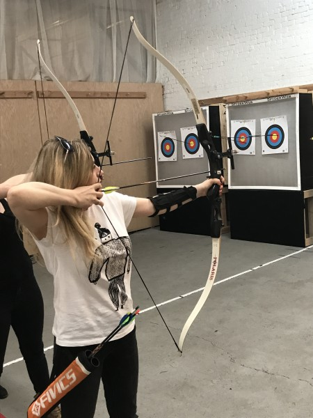 Archery in Brooklyn