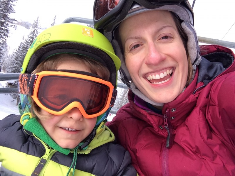 Our kids both started skiing at age 2-3