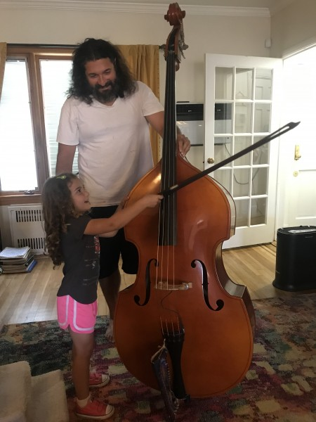 Lessons on the upright bass