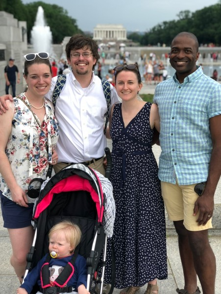 Liz and Dave are two of our closest friends, who know Andrea from Brown. We are godparents to their son, Marc
