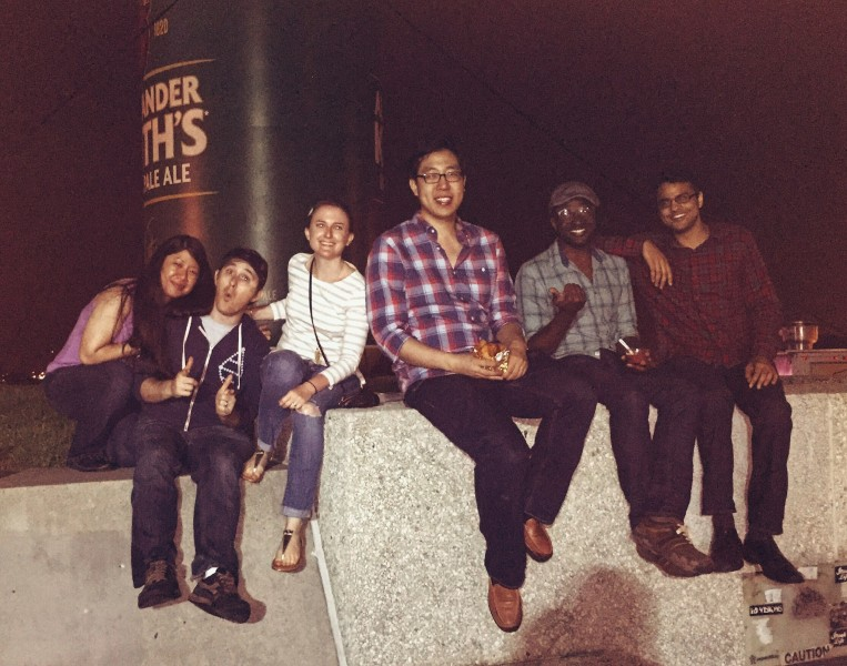 Patrick's Harvard friends