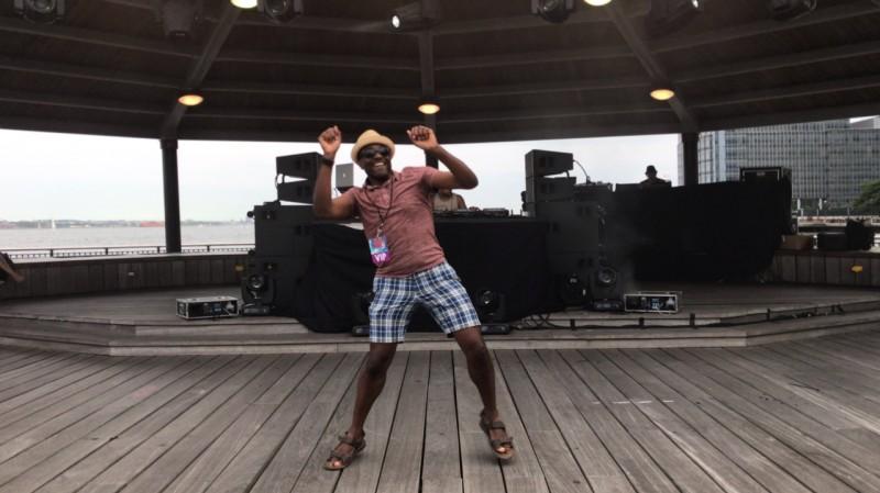 Patrick loves to dance