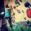 We enjoy indoor rock climbing