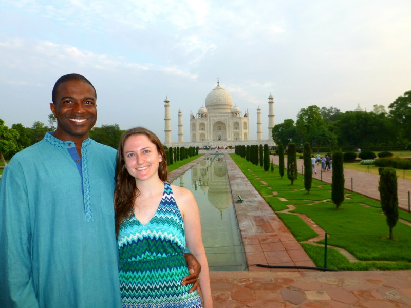 We love to travel - here we are in India