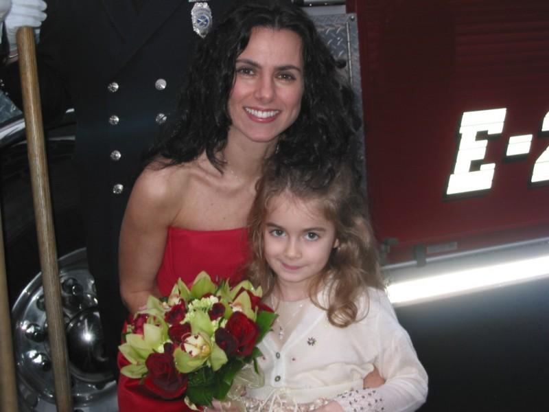 Nicole with her niece Angeli