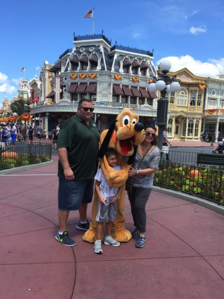 Disney fun with Pluto