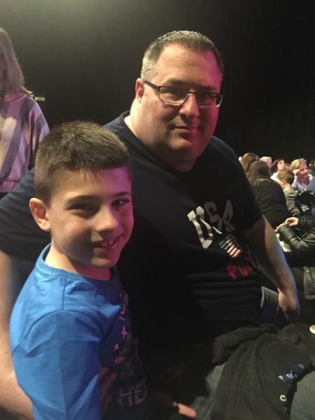 Daddy & RJ at PJ Masks
