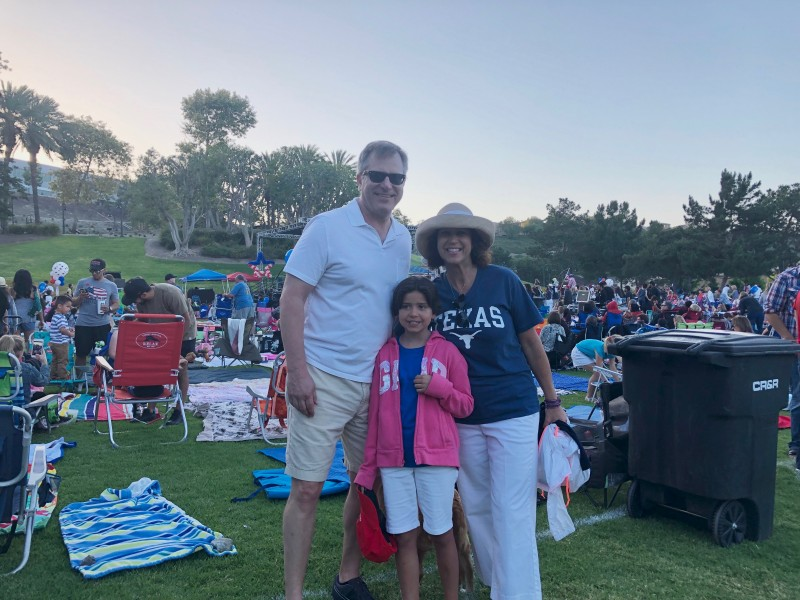 Fourth of July at our neighborhood park