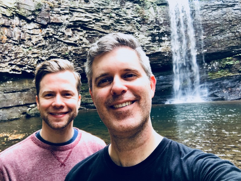 "We may have gone ""chasing waterfalls."""