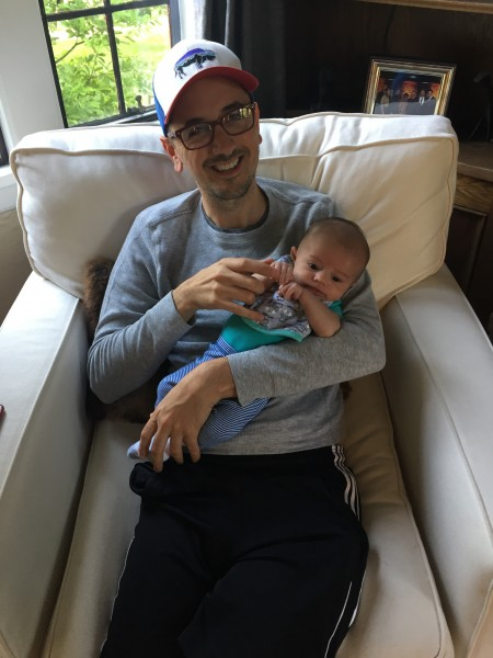 Jeff and baby Cole