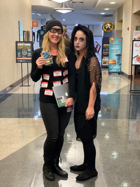 Halloween 2019 with friend, Lindsey.