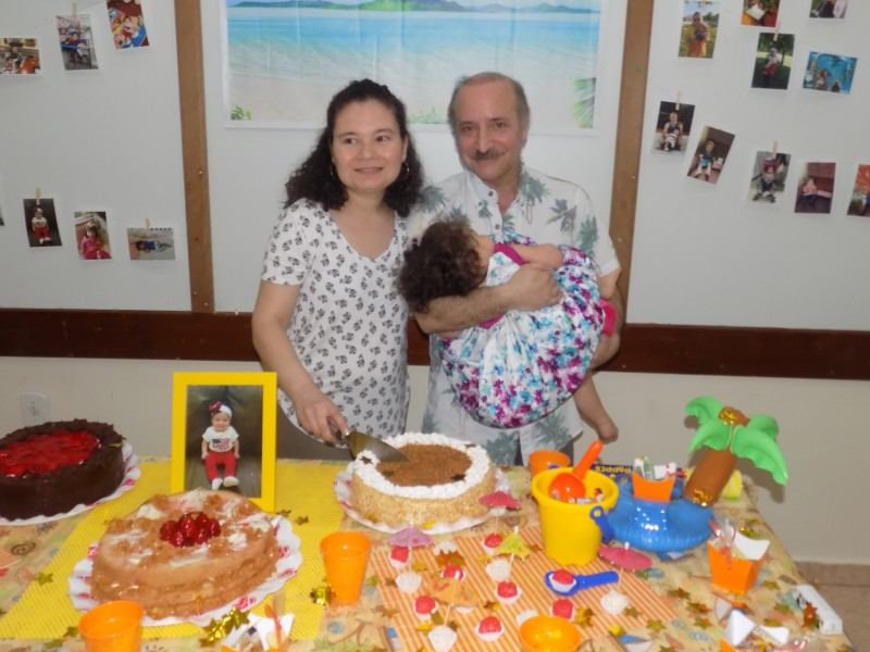 Our daughter's first birthday party!