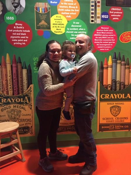 Crayola visit