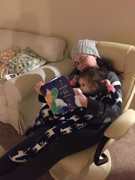 Read books before bed!