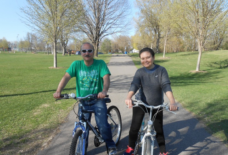 Bike time in our best park!