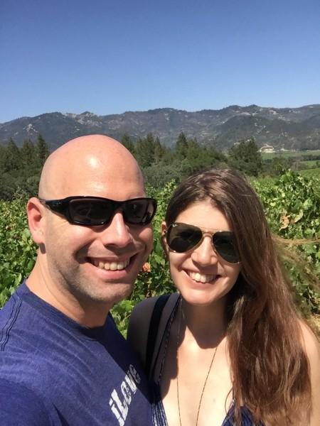 Vineyards in Calistoga, CA
