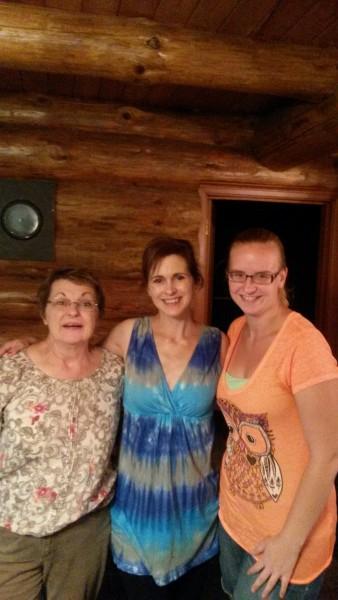 Maria and Craig's sister and mom