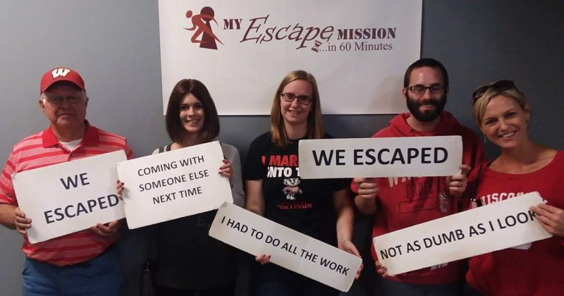 Escape Room with Craig's family