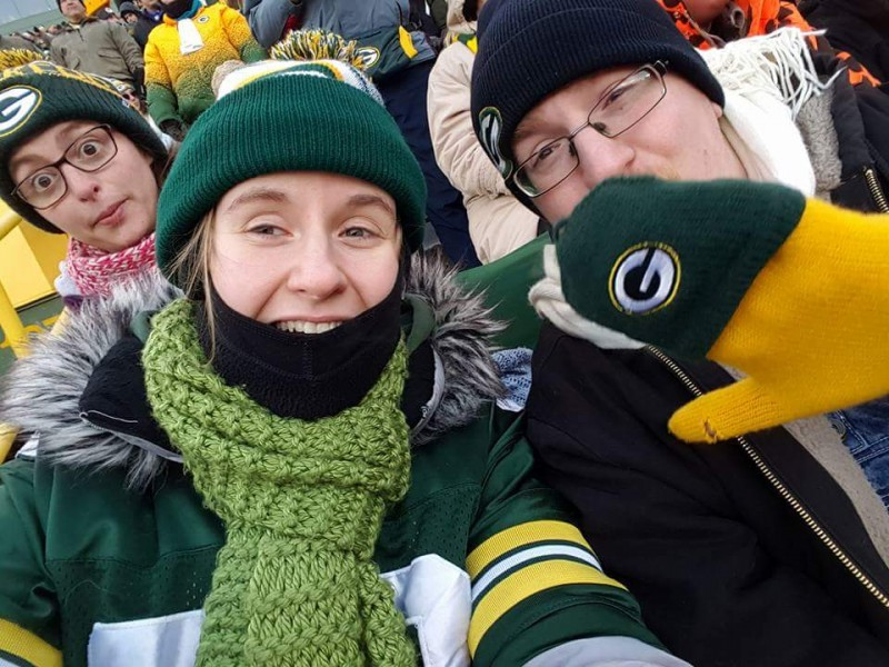 Another bitter cold Packer game. Go Pack Go!