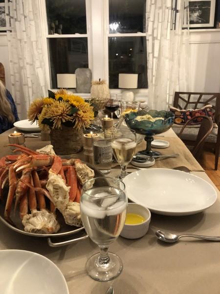 A bountiful table!