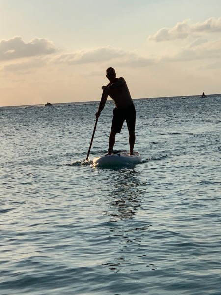 One of our favorite hobbies - paddleboarding!